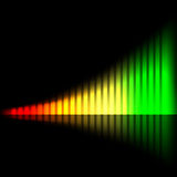 Abstract bright chart Royalty Free Stock Image