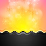 Abstract bright Christmas background Stock Images