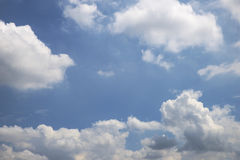 Abstract bright cloudy sky Stock Photo