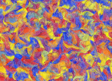 Abstract Bright Color Stroke Backgrounds Royalty Free Stock Image