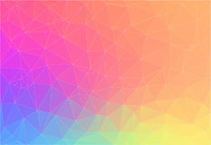 Abstract bright color Triangle Background. For your design Stock Illustration