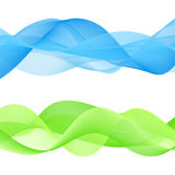 Abstract bright color wave Royalty Free Stock Images