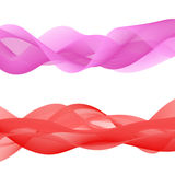 Abstract bright color wave Stock Image
