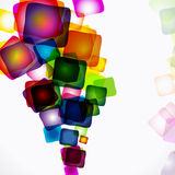 Abstract bright colorful background. Illustration for your design Stock Photo