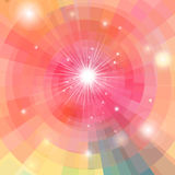 Abstract bright colorful kaleidoscope Stock Images