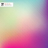 Abstract bright colorful with striped lines texture and backgrou. Nd. Vector illustration Stock Illustration