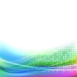 Abstract bright colorful transparent background Royalty Free Stock Photos