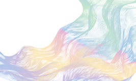 Abstract Bright colorful Waves Royalty Free Stock Photos