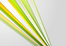 Abstract bright corporate stripes background Stock Images
