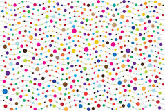 Abstract bright dots and vawes background Stock Photos