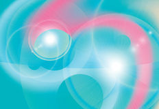 Abstract bright energy vector background Royalty Free Stock Images