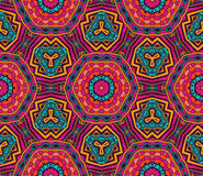 Abstract bright festival ethnic seamless pattern. Abstract bright festival Tribal vintage ethnic seamless pattern ornamental design Royalty Free Stock Image