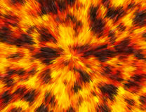 Abstract Bright Fire Burst Backgrounds. Painted Pattern Stock Photo