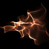 Abstract bright flame-coloured background Stock Photo