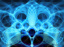 Abstract bright fractal background Stock Photo