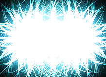 Abstract bright frame. Illustration of abstract frame of bright lights Royalty Free Stock Image