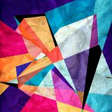 Abstract bright geometric background Royalty Free Stock Image