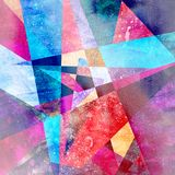 Abstract bright geometric background Stock Images