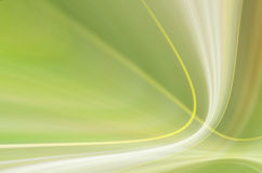 Abstract bright green curve background Stock Photos