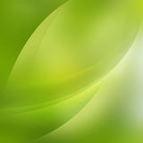 Abstract bright green curve background Stock Photo