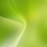 Abstract bright green curve background Royalty Free Stock Image