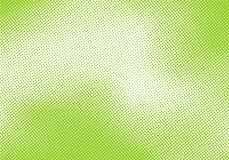 Abstract bright green pop art retro background with halftone comic style texture royalty free illustration