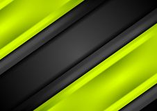 Abstract bright green smooth stripes background. Abstract bright green smooth stripes vector design background Royalty Free Stock Photo