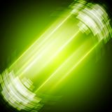 Abstract bright green technology background Royalty Free Stock Image