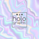 Abstract bright holographic background Stock Image