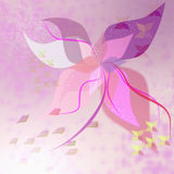 Abstract bright illustration flower Royalty Free Stock Images