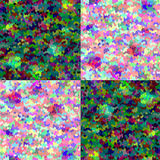 Abstract bright mosaic tiles background Stock Photography
