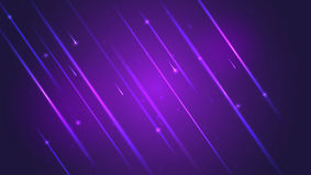 Abstract bright motion background with blurred light rays and lens flare. Dynamic digital, technology backdrop for Stock Image