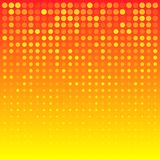 Abstract Bright Orange Background Stock Image