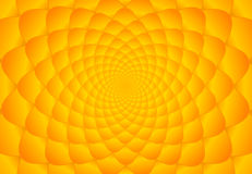 Abstract bright orange fibonacci background Royalty Free Stock Images