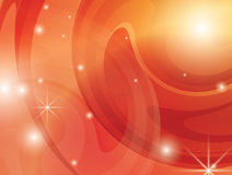 Abstract bright orange vector background Stock Photo
