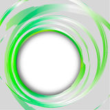 Abstract bright painting design element. Green. Royalty Free Stock Photography