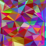 Abstract bright polygonal background,  Royalty Free Stock Photos