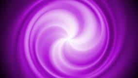 Abstract bright purple swirl rotation video animation stock footage