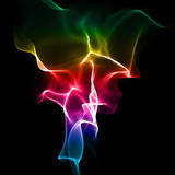 Abstract bright rainbow-coloured background Royalty Free Stock Images