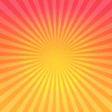 Abstract bright Red Orange gradient rays background. Vector EPS 10 cmyk.  Stock Images