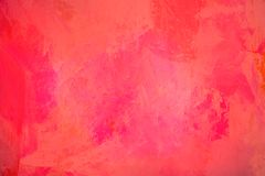 The abstract bright red surface has a brush painted on the background for graphic design. The abstract bright red surface has a brush texture painted on the stock photos