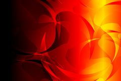 Abstract bright red yellow black colors Background. Vector Illustration. Wallpaper for many uses for backgrounds or screensaver Stock Photos