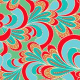 Abstract bright seamless patterns Stock Image