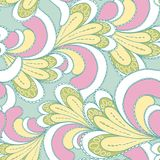 Abstract bright seamless patterns Stock Images