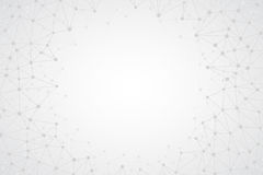 Abstract Bright Simple Tech Vector Background Stock Photos