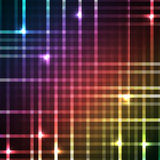 Abstract bright spectrum wallpaper.  Royalty Free Stock Photo