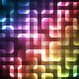 Abstract bright spectrum wallpaper. illustration Stock Images