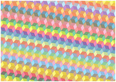 Abstract bright squares background Stock Photos