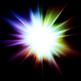 Abstract Bright Star Royalty Free Stock Images