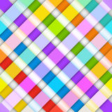 Abstract bright stripes on a white background.  Royalty Free Stock Photography